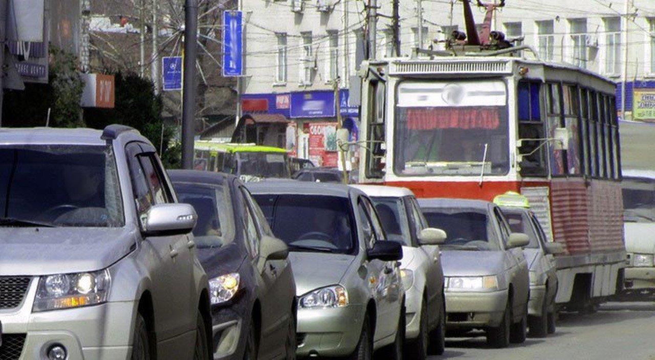 Езда по трамвайным путям, штрафы и ДТП на трамвайных путях