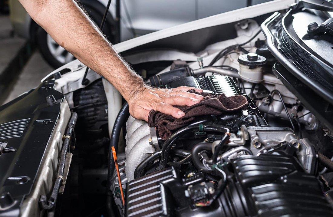 Штраф замена двигателя
