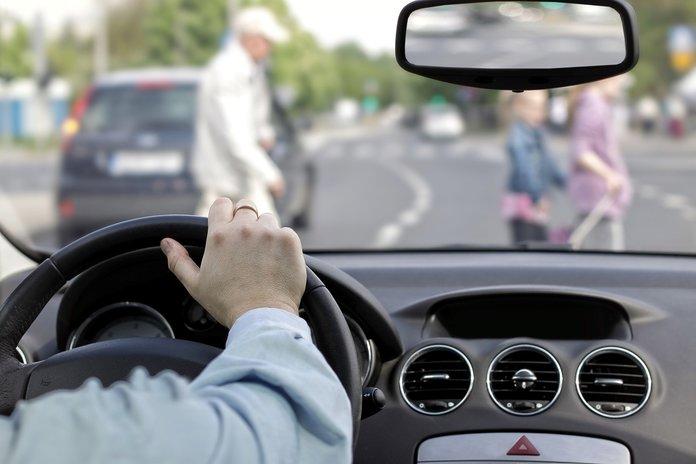 Наказание за наезд на пешехода вне пешеходного перехода